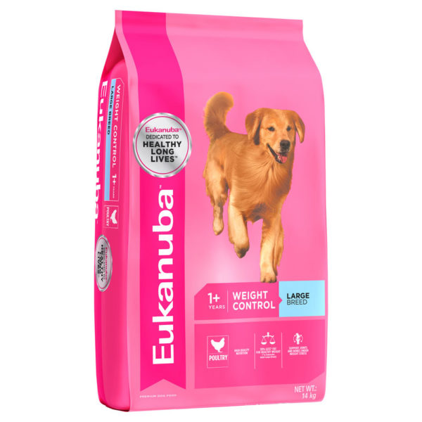 Eukanuba Adult Dog Weight Control Large Breed 14kg 1