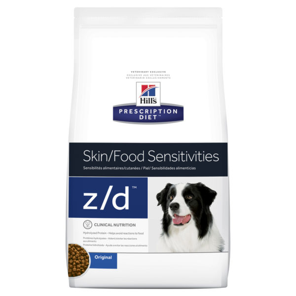 Hills Prescription Diet Canine z/d Skin/Food Sensitivities 11.3kg 1