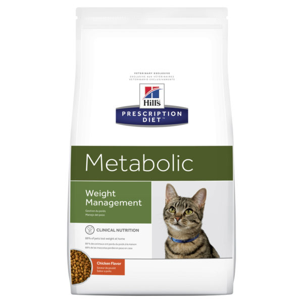 Hills Prescription Diet Feline Metabolic 3.85kg 1