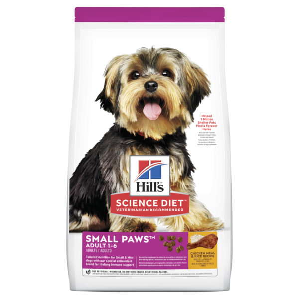 Hills Science Diet Adult Dog Small Paws 1.5kg 1