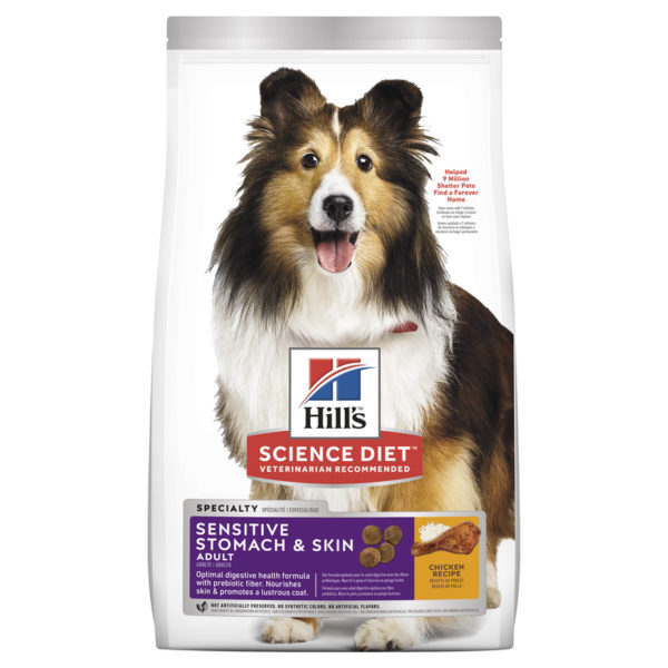 Hills Science Diet Adult Dog Sensitive Stomach & Skin 1.81kg 1