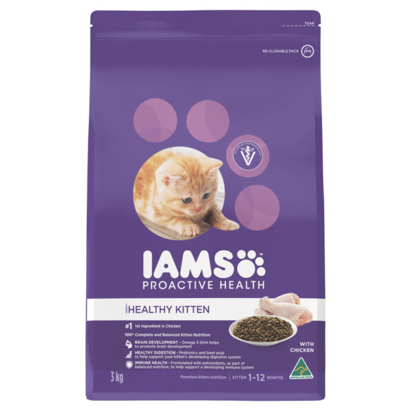 IAMS Kitten Chicken 3kg 1