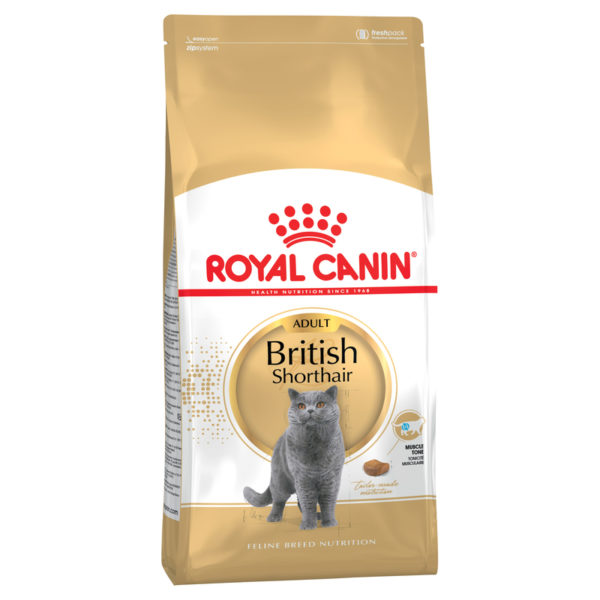 Royal Canin Feline Breed Nutrition British Shorthair Adult 4kg 1
