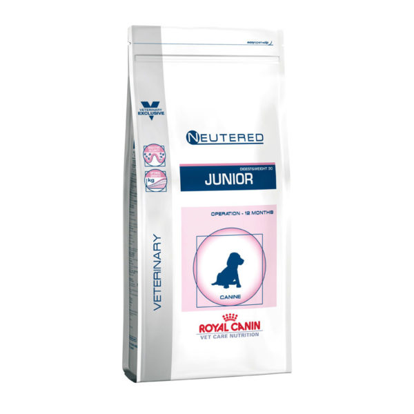 Royal Canin Vet Care Neutered Junior Medium Dog 4kg 1