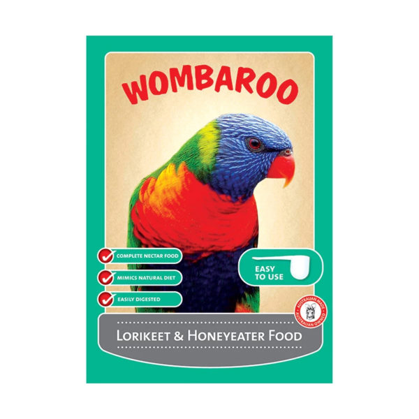 Wombaroo Lorikeet & Honeyeater Food 300g